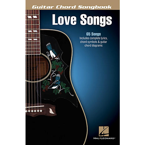 Hal Leonard Love Songs Guitar Chord Songbook Series Softcover Performed by Various