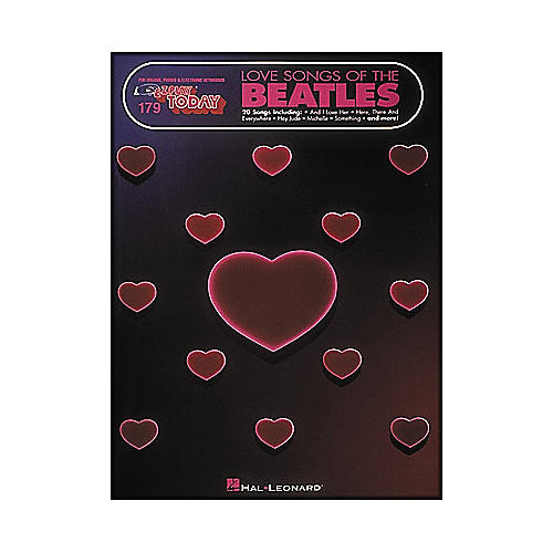 Hal Leonard Love Songs Of The Beatles E-Z Play 179