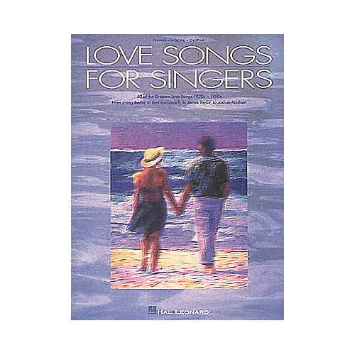 Hal Leonard Love Songs for Singers Piano/Vocal/Guitar Songbook