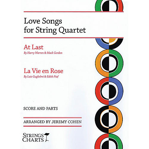 String Letter Publishing Love Songs for String Quartet String Letter Publishing Series Softcover Arranged by Jeremy Cohen-thumbnail