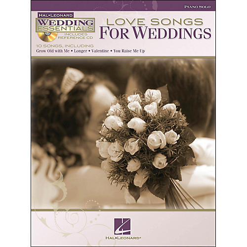 Hal Leonard Love Songs for Weddings - Wedding Essentials Series Book/CD arranged for piano solo