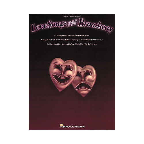 Hal Leonard Love Songs from Broadway Piano/Vocal/Guitar Songbook-thumbnail