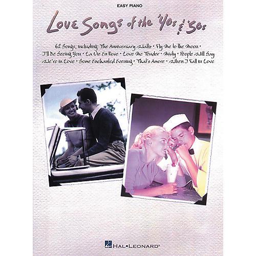 Hal Leonard Love Songs of the 40s & 50s