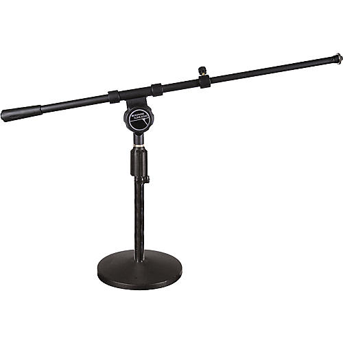 Musician's Friend Low Profile Mic Stand with Telescoping Boom-thumbnail