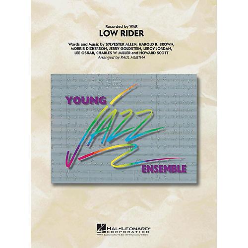 Hal Leonard Low Rider Jazz Band Level 3 by War Arranged by Paul Murtha-thumbnail