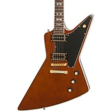 Epiphone Ltd Ed Lee Malia Explorer Custom Electric Guitar Walnut Black Pickguard