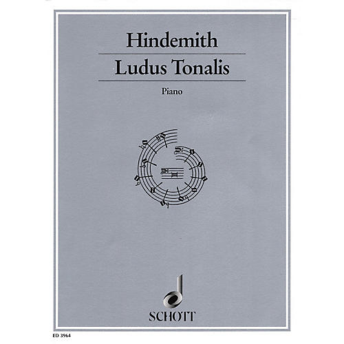 Schott Ludus Tonalis (1942) (Studies in Counterpoint, Tonal Organization and Piano Playing) Schott Series-thumbnail