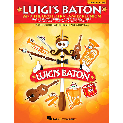 Hal Leonard Luigi's Baton & The Orchestra Family Reunion Teacher/Student CD-ROM-thumbnail