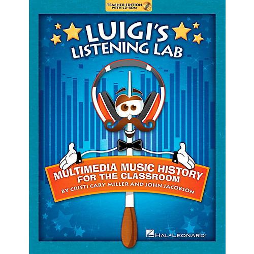 Hal Leonard Luigi's Listening Lab - Multimedia Music History for the Classroom Book/CD-ROM-thumbnail