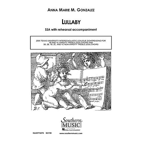 Hal Leonard Lullaby (Choral Music/Octavo Secular Ssa) SSA Composed by Gonzalez, Anna Marie-thumbnail