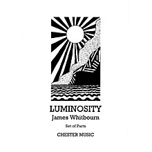 Music Sales Luminosity (SATB with viola, tanpura, tam-tam and organ parts) Parts Composed by James Whitbourn