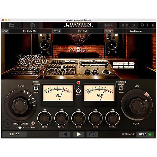 IK Multimedia Lurssen Mastering Console-thumbnail