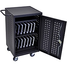 H. Wilson Luxor LLTM30-B 30 Tablet Charging Cart