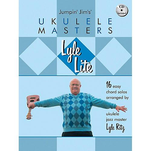 Hal Leonard Lyle Lite: 16 Easy Chord Solos Arranged by Ukulele Jazz Master Book/CD-thumbnail