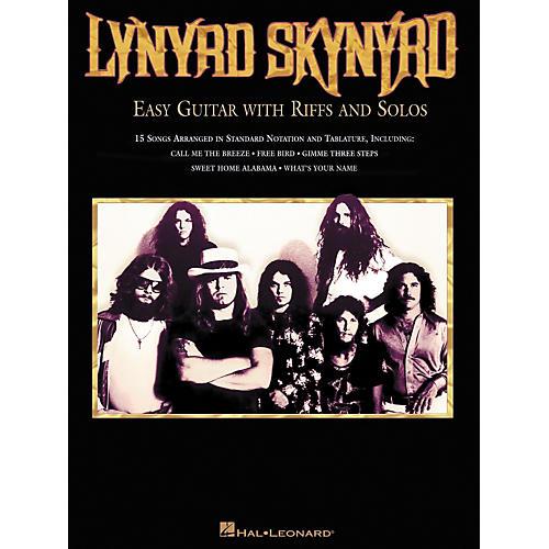 Hal Leonard Lynard Skynyrd Easy Guitar Tab Songbook with Riffs & Solos