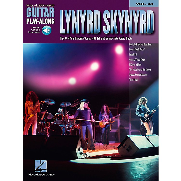 Hal LeonardLynyrd Skynyrd - Guitar Play-Along Volume 43 Book and CD