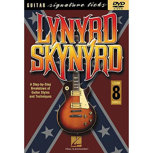 Hal Leonard Lynyrd Skynyrd - Guitar Signature Licks (DVD)