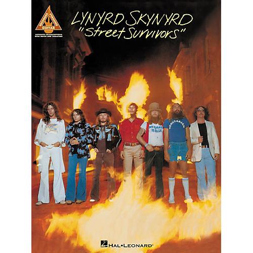 Hal Leonard Lynyrd Skynyrd Street Survivors Guitar Tab Songbook