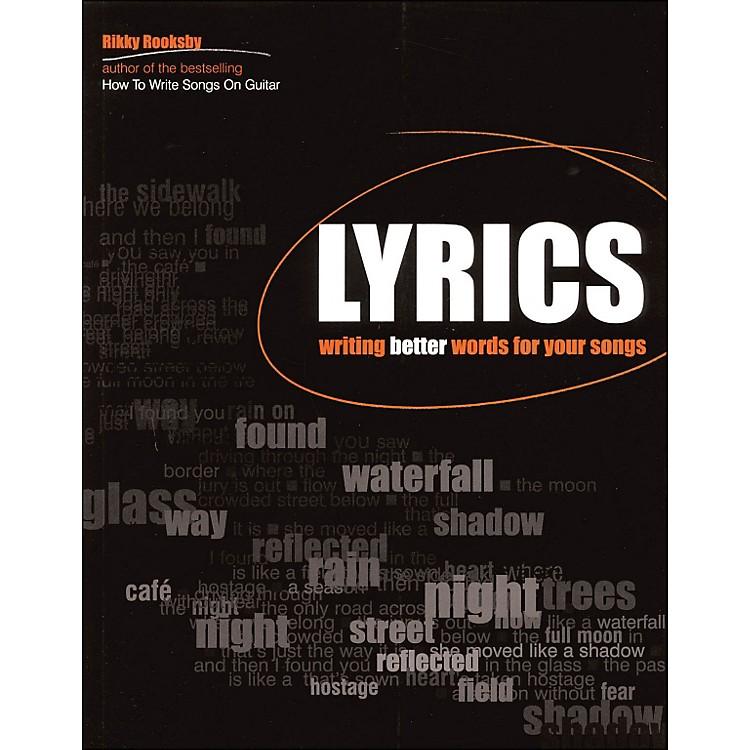 Backbeat BooksLyrics - Writing Better Words for Your Songs