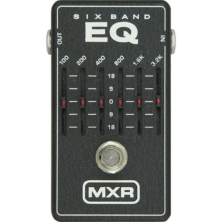 mxr m 109 6 band graphic eq musician 39 s friend. Black Bedroom Furniture Sets. Home Design Ideas