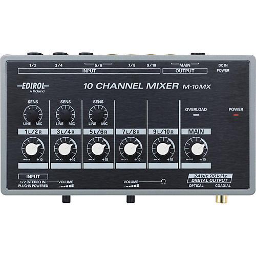 Edirol M-10MX 10-Channel Battery Powered Mixer