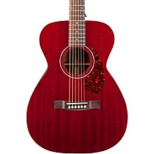 Guild M-120E Acoustic-Electric Guitar Cherry Red