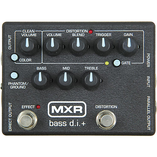 MXR M-80 Bass Direct Box with Distortion-thumbnail