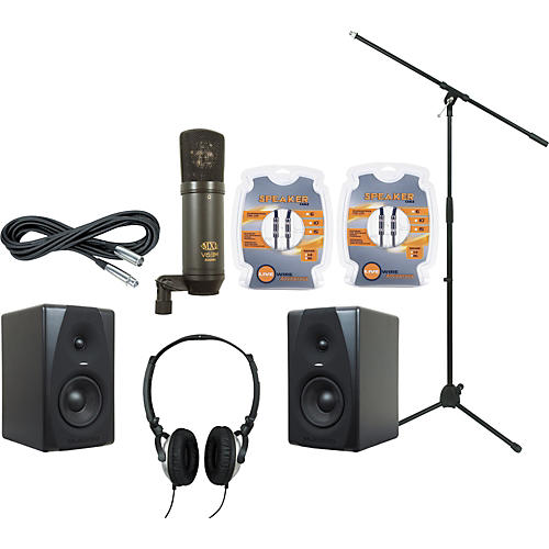 M-Audio M-Audio CX5 Mic and Headphone Recording Package