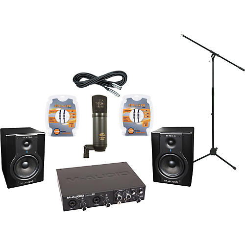 M-Audio M-Audio ProFire 610 and BX5a Recording Package