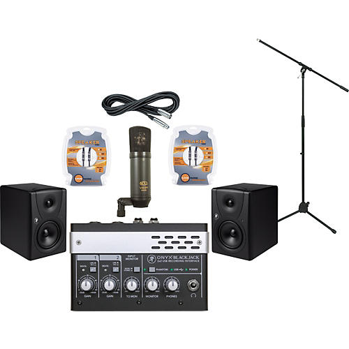 Mackie M-Audio ProTools Recording Studio and Mackie MR5 Package-thumbnail