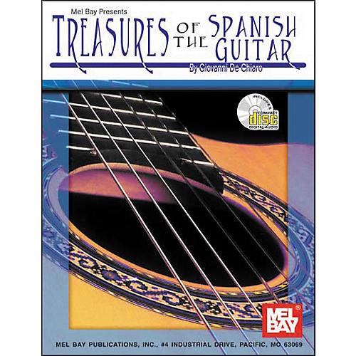 Mel Bay M/B Treasures of the Spanish Guitar Book/CD