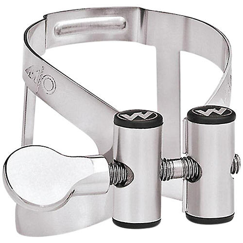 Vandoren M/O Bb Clarinet Ligature and Cap for Masters Mouthpiece Silver plated