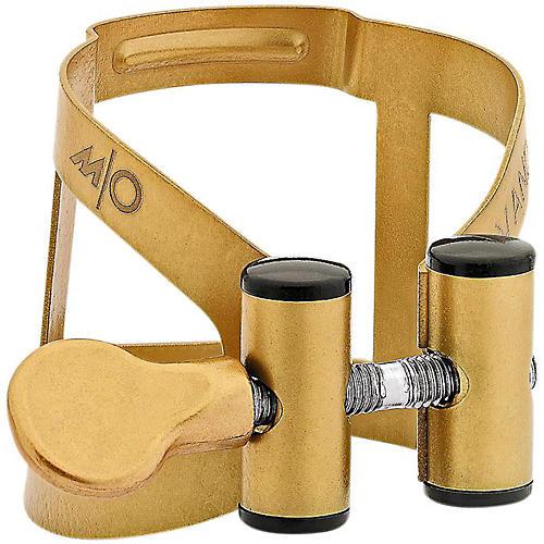 Vandoren M/O Series Saxophone Ligature Baritone Sax, For V16 mtp Aged Gold Plastic cap