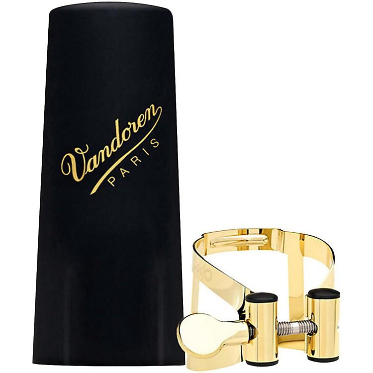 VandorenM/O Series Saxophone LigatureSoprano Sax - 24ct Gold-Plated W/ Plastic cap