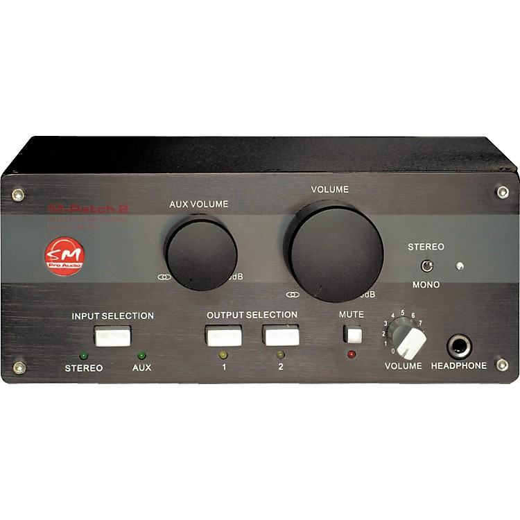 SM Pro Audio M-Patch 2 Passive Volume Control/Switch Box