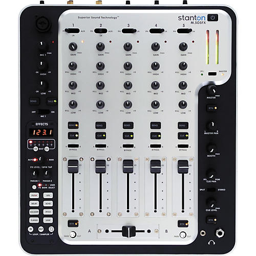 Stanton M.505FX 5-Channel DJ Mixer with Effects