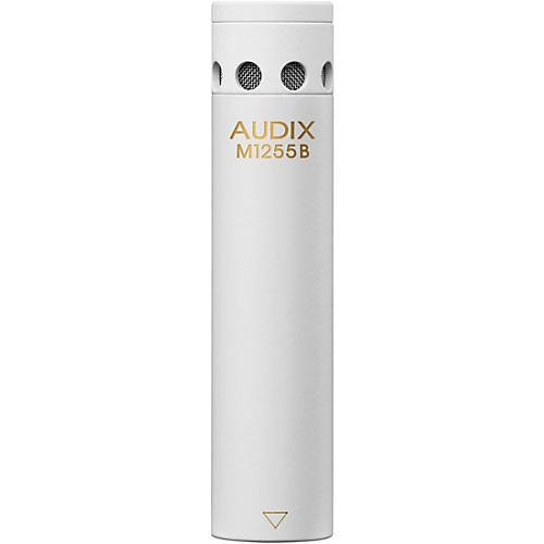 Audix M1255B Miniaturized Condenser Microphone Omni White