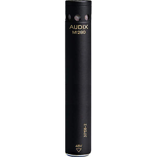 Audix M1280 RFI-Immune Condenser Microphone Omni