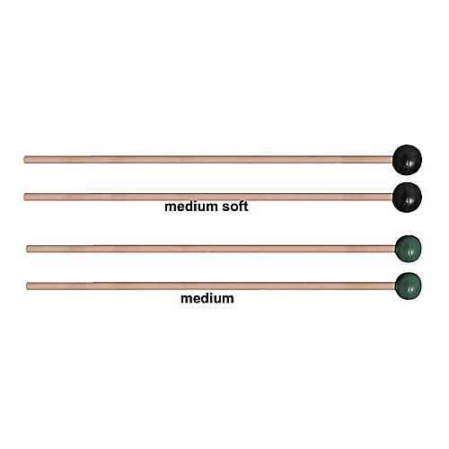 Vic Firth M131 / M132 Rubber Xylophone Mallets  Medium Soft