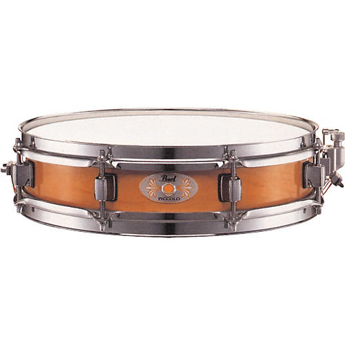 Pearl M1330 Maple Piccolo Snare Drum Liquid Amber