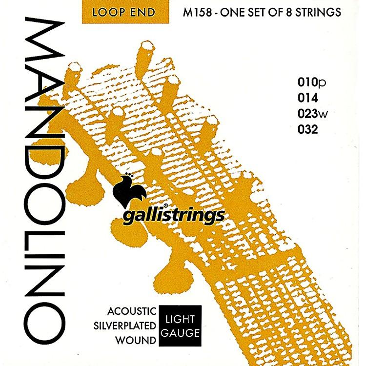 Galli StringsM158 Silverplated MANDOLINO Strings