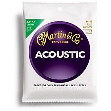 Martin M180 12-String 80/20 Bronze Extra Light Acoustic Guitar Strings