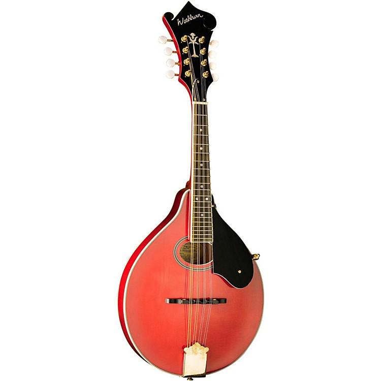 WashburnM1SDL A-Style MandolinTrans Red