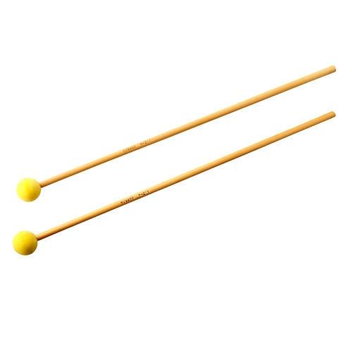 Musser M211 Soft Yellow Marimba Mallets-thumbnail