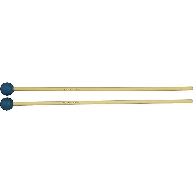 MusserM213 Medium Hard Blue Rubber Mallets