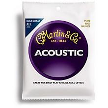 Martin M240 80/20 Bronze Bluegrass Medium Light Acoustic Guitar Strings