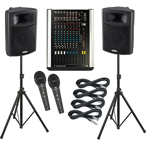 Soundcraft M4 / Harbinger APS15 PA Package