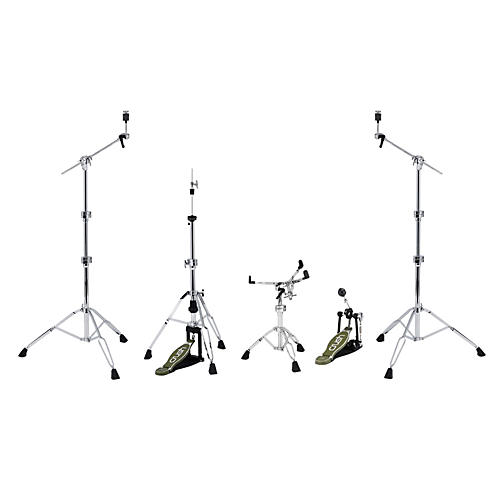 Crush Drums & Percussion M4 5 Piece Hardware Pack with 2 Boom Stands-thumbnail