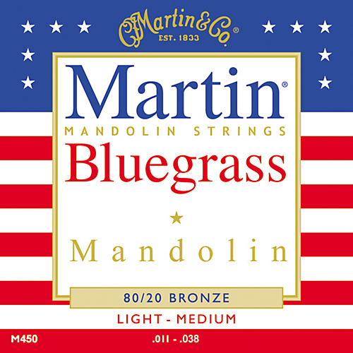 Martin M450 80/20 Bronze Bluegrass Acoustic Mandolin Strings