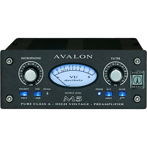 Avalon M5 Pure Class A Mono Microphone Preamplifier & DI-thumbnail